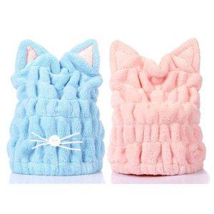 کلاه حمام گربه ای