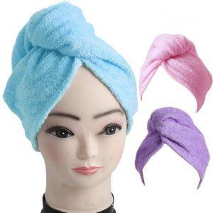 روسری سه گوش حوله ای